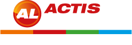 Logo Actis Location Blanc